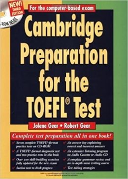دانلود کتاب Cambridge Preparation For The TOEFL Test